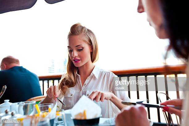 Lunch in a Restaurant
