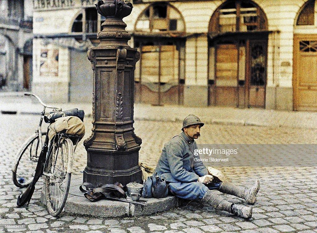 World War I In France : News Photo