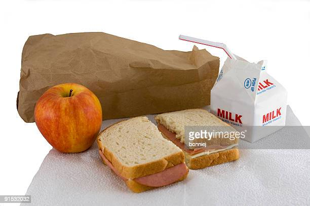 lunch - baloney stock photos and pictures