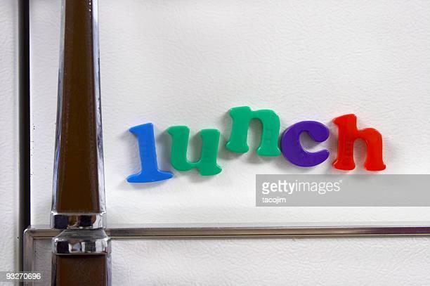 o almoço - ímã - fotografias e filmes do acervo
