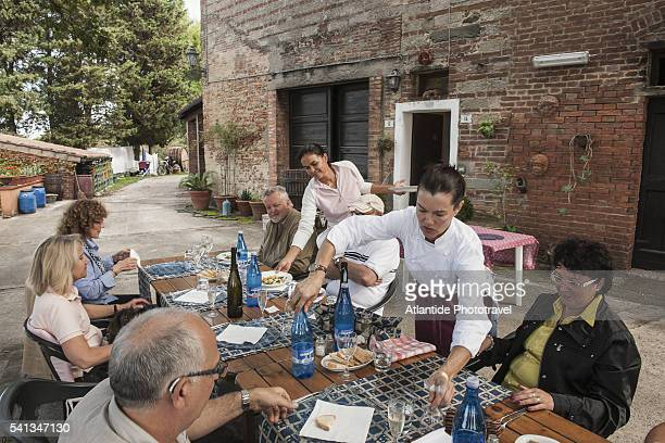 lunchtime - san miniato stock pictures, royalty-free photos & images