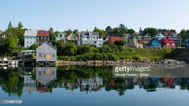 lunenburg 1 - nova scotia stock pictures, royalty-free photos & images