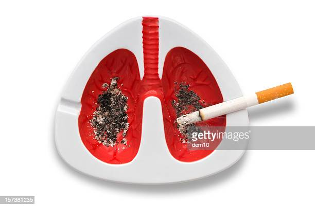 Lung cancer concept