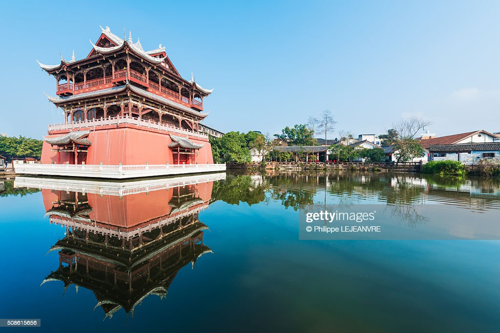 Luodai Wufeng tower : Stock Photo