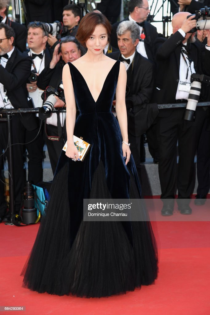 Luodan Wang attends the 'Ismael's Ghosts (Les Fantomes d'Ismael)' screening and Opening Gala during the 70th annual Cannes Film Festival at Palais des Festivals on May 17, 2017 in Cannes, France.