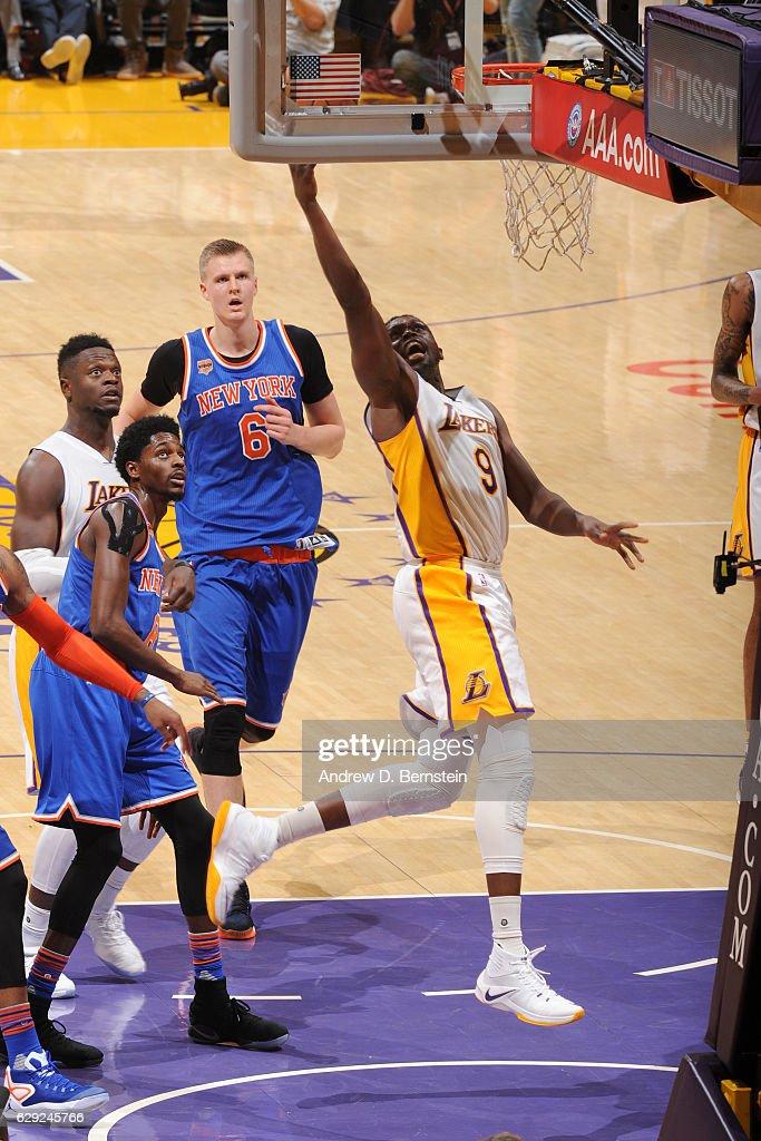 New York Knicks v Los Angeles Lakers : News Photo