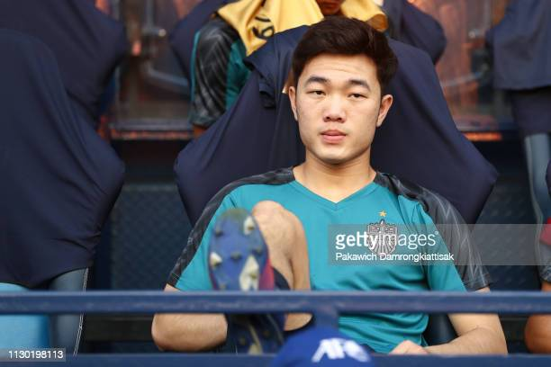 Luong Xuan Truong of Buriram United prior to the AFC Champions League Group G match between Buriram United and Jeonbuk Hyundai Motors at Buriram...
