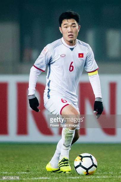 Luong Xuan Truong of Vietnam in action during the AFC U23 Championship China 2018 Group D match between Syria and Vietnam at Changshu Sports Center...