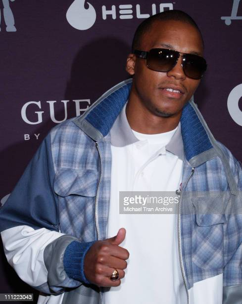 Lupe Fiasco during GQ Guess Present The Roof is on Fire 3rd Annual Summer Bash Arrivals at The Rooftop at the Petersen Automotive Museum in Los...