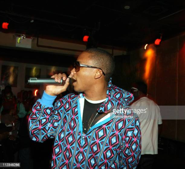 Lupe Fiasco during Swagger Tokyo US Launch with Live Performances by Kanye West and Lupe Fiasco March 15 2007 at Club Stereo in New York City New...