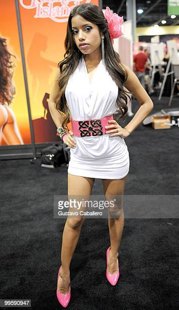 Lupe Fuentes attends Exxxotica Miami Beach at the Miami Beach Convention Center on May 15 2010 in Miami Beach Florida