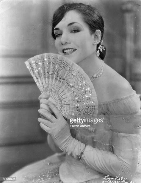 Lupe Velez as she appears in the film 'The Lady Of The Pavements' directed by D W Griffith his first talking picture