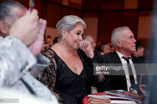Lupita D'Alessio attends the Special Awards Presentation during the 20th annual Latin GRAMMY Awards at the Waldorf Astoria Las Vegas on November 13...