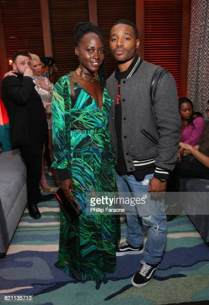 Lupita Nyong'o and Ryan Coogler at Entertainment Weekly's annual ComicCon party in celebration of ComicCon 2017 at Float at Hard Rock Hotel San Diego...