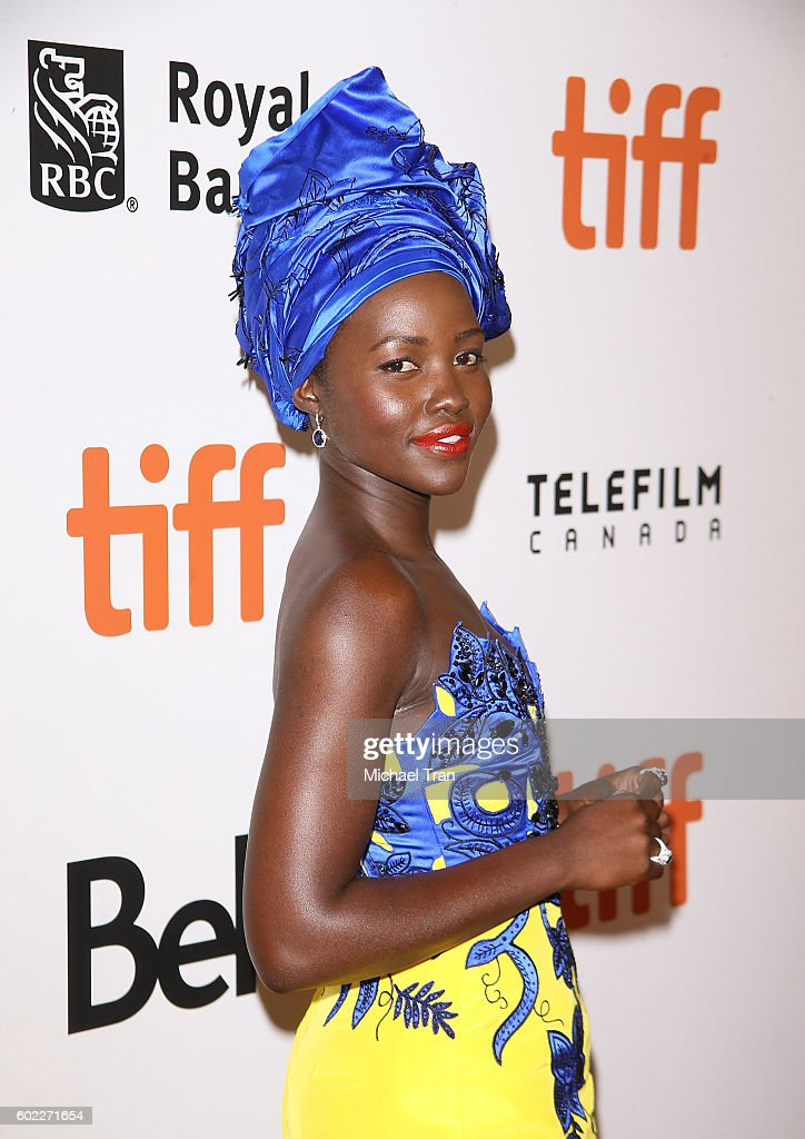 Lupita Nyong'o arrives at the 2016 Toronto International Film Festival - 'Queen Of Katwe' premiere held at Roy Thomson Hall on September 10, 2016 in Toronto, Canada.