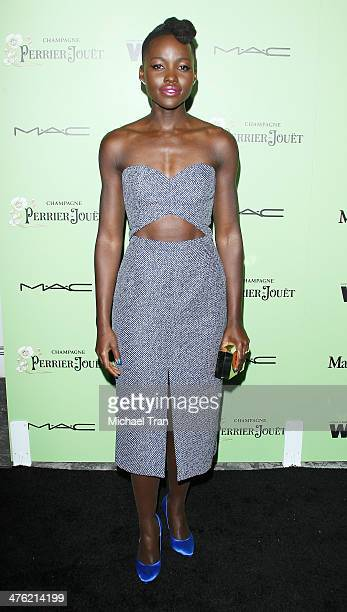 Lupita Nyong'o arrives at the 7th Annual Women In Film PreOscar cocktail party held at Fig Olive Melrose Place on February 28 2014 in West Hollywood...
