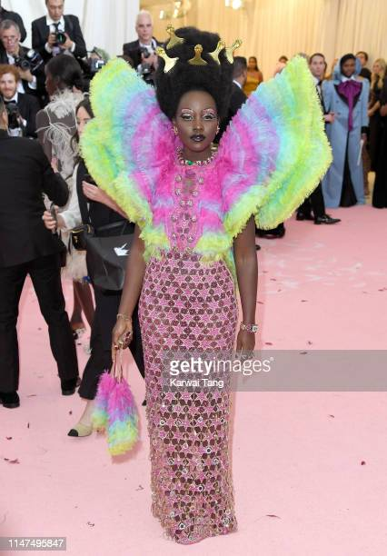 Lupita Nyong'o arrives for the 2019 Met Gala celebrating Camp Notes on Fashion at The Metropolitan Museum of Art on May 06 2019 in New York City