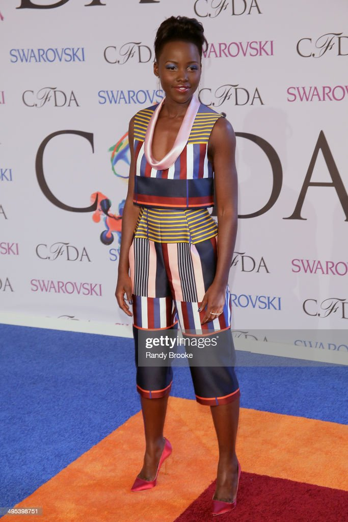 Lupita Nyong'o attends at Alice Tully Hall, Lincoln Center on June 2, 2014 in New York City.