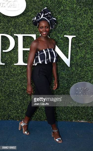 Lupita Nyong'o attends day 2 of the 2016 US Open at USTA Billie Jean King National Tennis Center on August 30 2016 in the Queens borough of New York...