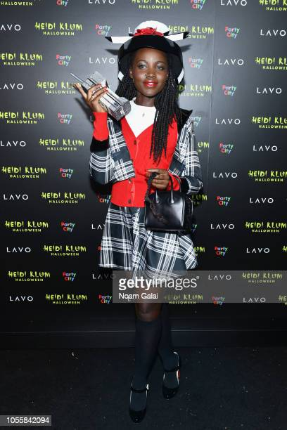 Lupita Nyong'o attends Heidi Klum's 19th Annual Halloween Party presented by Party City and SVEDKA Vodka at LAVO New York on October 31 2018 in New...