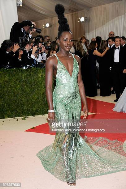 Lupita Nyong'o attends 'Manus x Machina Fashion In An Age Of Technology' Costume Institute Gala at