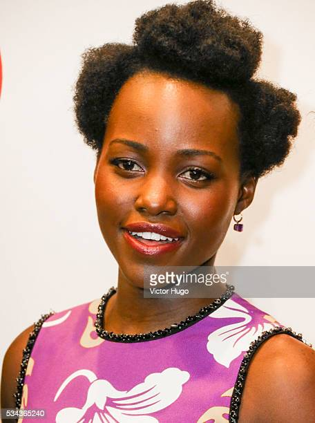 Lupita Nyong'o attends Seventh Annual Lilly Awards at Signature Theatre on May 23 2016 in New York City
