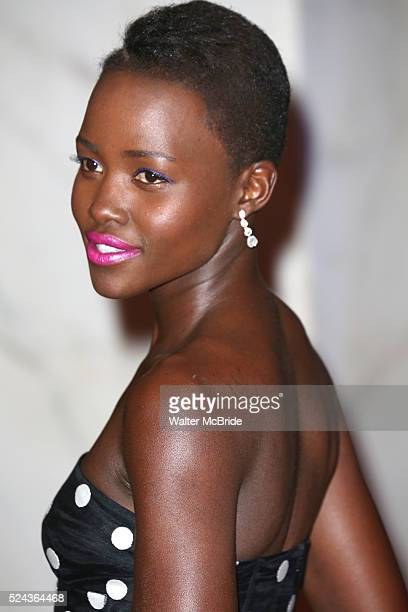 Lupita Nyong'o attends the 100th Annual White House Correspondents' Association Dinner at the Washington Hilton on May 3 2014 in Washington DC