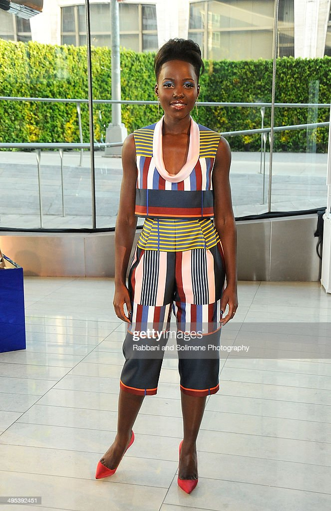 Lupita Nyong'o attends the 2014 CFDA fashion awards at Alice Tully Hall, Lincoln Center on June 2, 2014 in New York City.