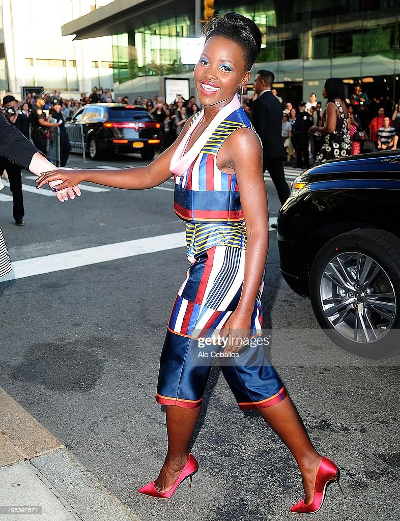 Lupita Nyong'o attends the 2014 CFDA Fashion Awards>> at Alice Tully Hall, Lincoln Center on June 2, 2014 in New York City.