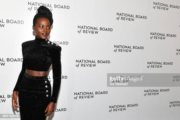 Lupita Nyong'o attends the 2018 National Board of Review Awards Gala at Cipriani 42nd Street on January 9 2018 in New York City