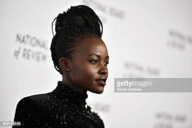 Lupita Nyong'o attends the 2018 The National Board Of Review Annual Awards Gala at Cipriani 42nd Street on January 9 2018 in New York City