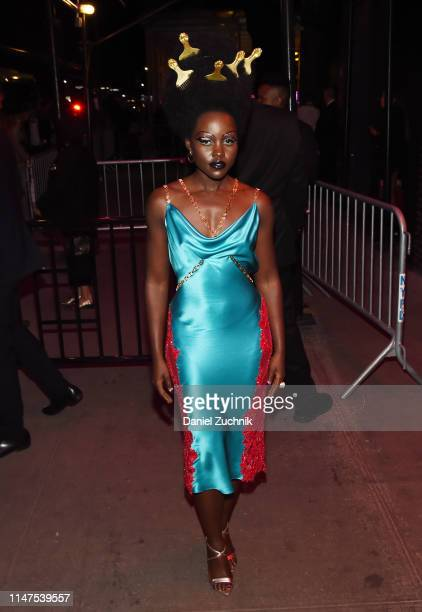 Lupita Nyong'o attends the 2019 Met Gala Boom Boom Afterparty at The Standard hotel on May 06, 2019 in New York City.