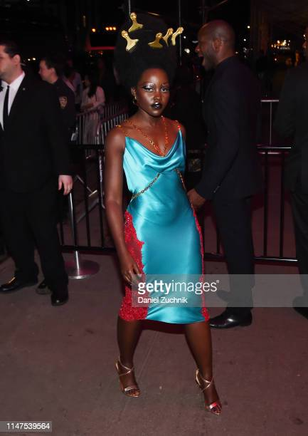 Lupita Nyong'o attends the 2019 Met Gala Boom Boom Afterparty at The Standard hotel on May 06 2019 in New York City
