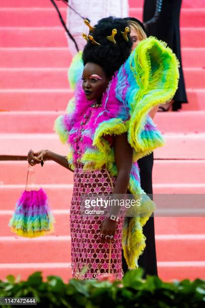 Lupita Nyong'o attends the 2019 Met Gala celebrating 'Camp Notes on Fashion' at the Metropolitan Museum of Art on May 06 2019 in New York City