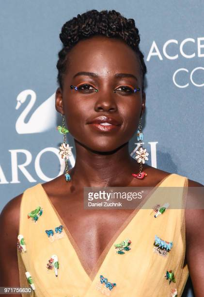 Lupita Nyong'o attends the 22nd Annual Accessories Council ACE Awards at Cipriani 42nd Street on June 11 2018 in New York City