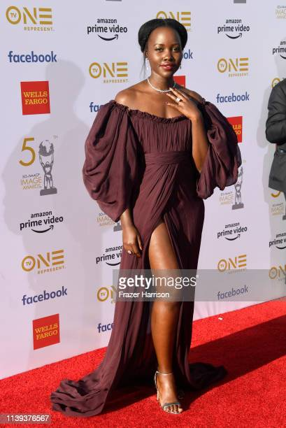 Lupita Nyong'o attends the 50th NAACP Image Awards at Dolby Theatre on March 30 2019 in Hollywood California