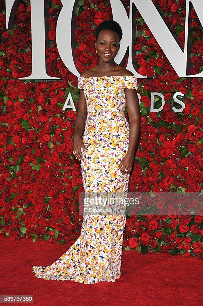 Lupita Nyong'o attends the 70th Annual Tony Awards at the Beacon Theatre on June 12 2016 in New York City