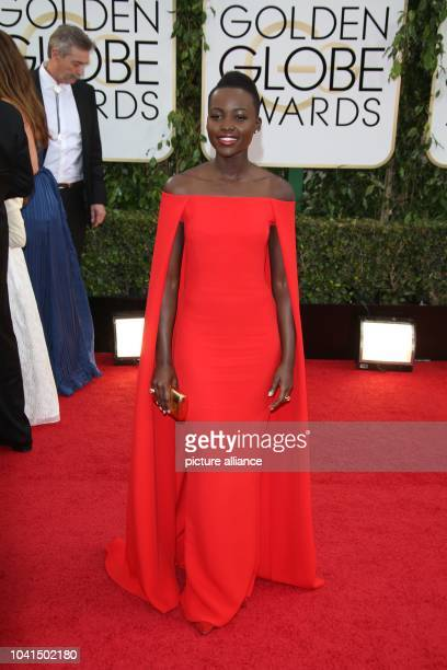 Lupita Nyong'o attends the 71st Annual Golden Globe Awards aka Golden Globes at Hotel Beverly Hilton in Los Angeles USA on 12 January 2014 Photo...