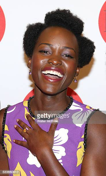 Lupita Nyong'o attends The 7th Annual Lilly Awards at Signature Theatre on May 23, 2016 in New York City.