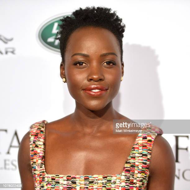 Lupita Nyong'o attends The BAFTA Los Angeles Tea Party at Four Seasons Hotel Los Angeles at Beverly Hills on January 5 2019 in Los Angeles California