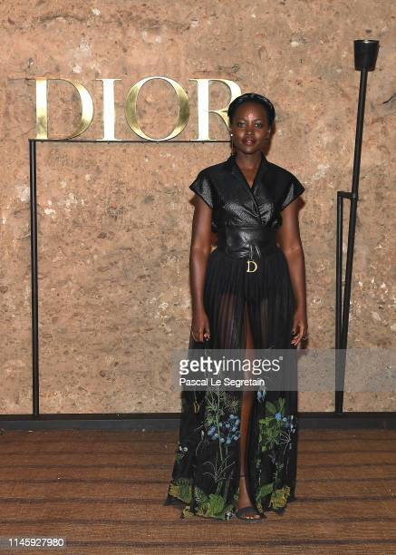Lupita Nyong'o attends the Christian Dior Couture S/S20 Cruise Collection on April 29 2019 in Marrakech Morocco
