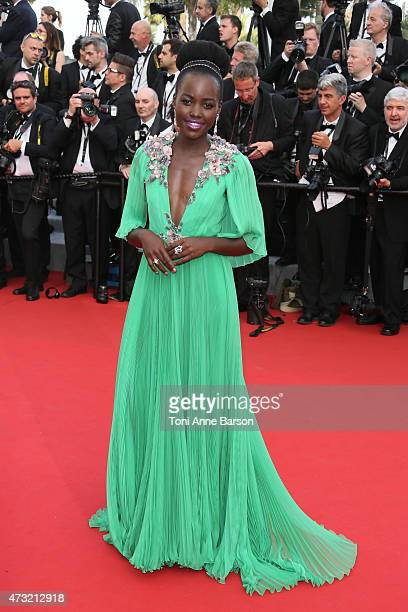 """Lupita Nyong'o attends the opening ceremony and """"La Tete Haute"""" premiere during the 68th annual Cannes Film Festival on May 13, 2015 in Cannes,..."""