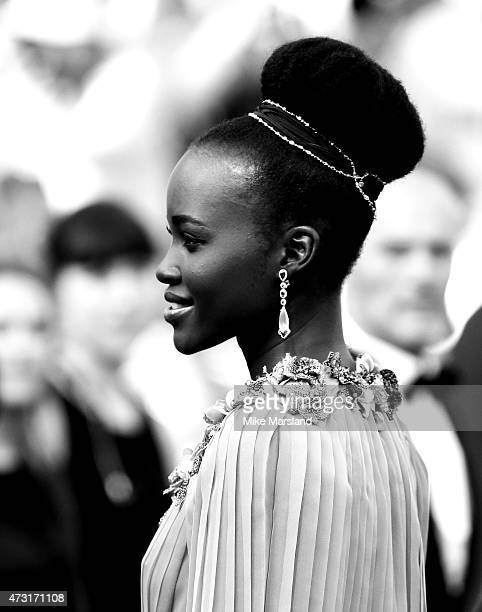 Lupita Nyong'o attends the opening ceremony and premiere of 'La Tete Haute during the 68th annual Cannes Film Festival on May 13 2015 in Cannes France