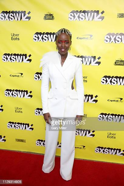 "Lupita Nyong'o attends the premiere of ""Us"" at the Paramount Theater during the 2019 SXSW Conference And Festival on March 8, 2019 in Austin, Texas."
