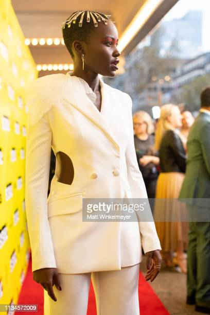 Lupita Nyong'o attends the Us Premiere 2019 SXSW Conference and Festivals at Paramount Theater at Stateside Theater on March 08 2019 in Austin Texas