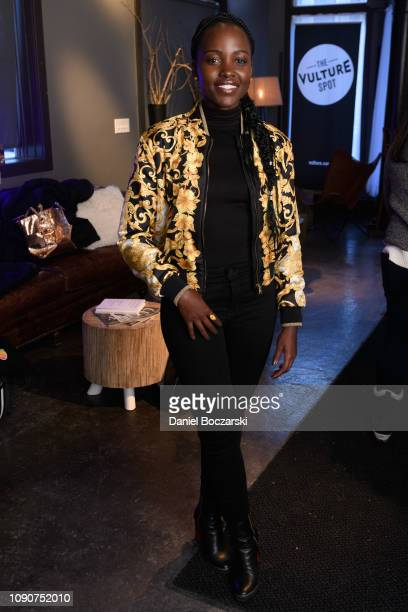 Lupita Nyong'o attends The Vulture Spot during Sundance Film Festival on January 28 2019 in Park City Utah