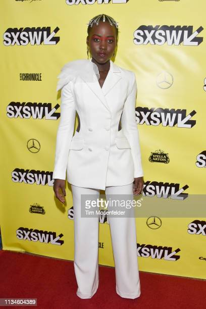 Lupita Nyong'o attends the world premiere of US during the 2019 SXSW Conference and Festival at the Paramount Theater on March 08 2019 in Austin Texas