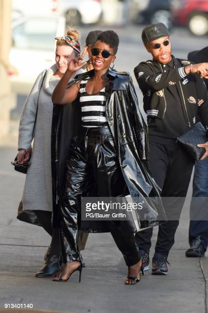 Lupita Nyong'o is seen on February 01 2018 in Los Angeles California