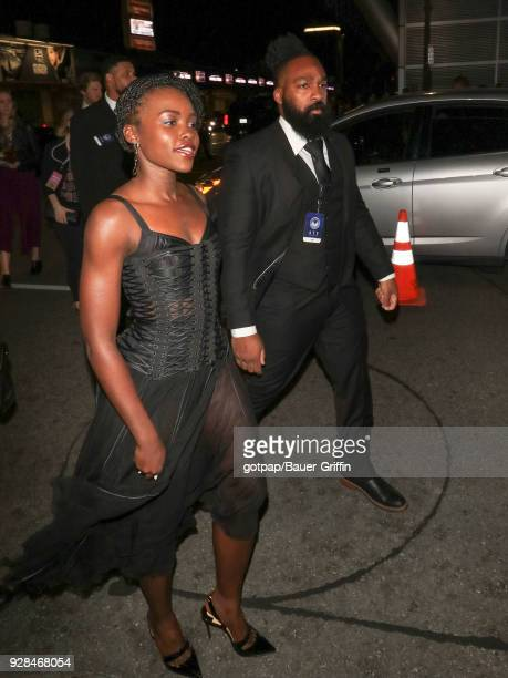 Lupita Nyong'o is seen on March 06 2018 in Los Angeles California