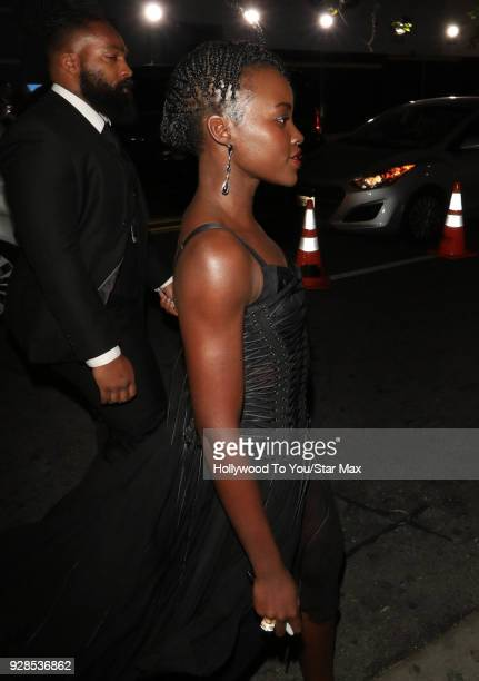 Lupita Nyong'o is seen on March 6 2018 in Los Angeles California